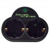 Powermaster 16916 İkili Akım Korumalı Priz
