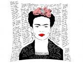 Frida Yazılı Kırlent