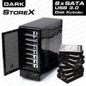 Dark Storex D80 8 Disk Destekli Usb3.0 Hot Swap Di...