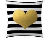 Sarı Kalp Kırlent