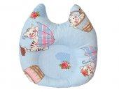Ortopedik Kedi Mavi Yastık