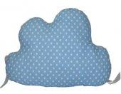 Mavi Puantiye Bulut Beşik Koruma