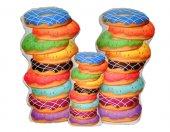 3 Lü Donut Yastık