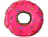 Pembe Donut Yastık