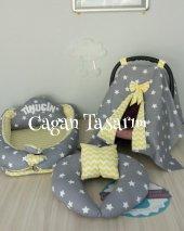 Babynest Özel Set Puset Örtüsü Emzirme Yastıgı 002