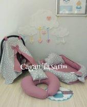 Babynest Özel Set Puset Örtüsü Emzirme Yastıgı 003