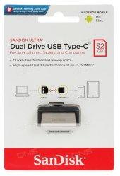Sandisk Ultra Dual Drive Type C 32gb Otg Usb Bellek Sdddc2 032g G46