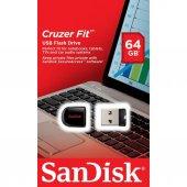 SanDisk Cruzer Fit 64GB Usb Bellek (SDCZ33-064G-B35)