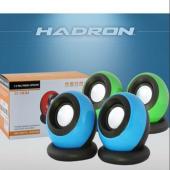 HADRON HD6035 SPEAKER 9*9*10 CM