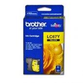 BROTHER LC-67Y SARI 325 SAYFA KARTUS MFC-795CW, MFC-J615W