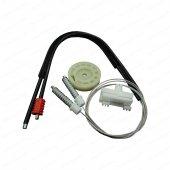 PEUGEOT 106 1-2 İçin Ön Sağ Kapı Cam Mekanizması Tamir Seti-2