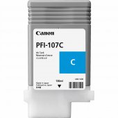 CANON 6706B001 PFI-107C CYAN KARTUS (130 ML)IPF 670/IPF 680/IPF 6