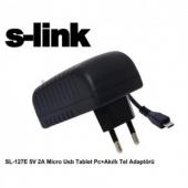 Slınk Sl 127e 5v 2a Micro Usb Tablet Pc+akıllı Tel...