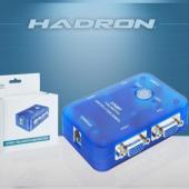 Hadron Hd239 2 Port Vga Swıtch&splıtter