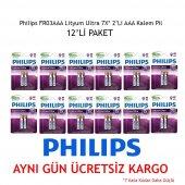 Philips Fr03aaa Lityum Ultra 7x 2 Li Aaa İnce...
