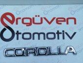 Toyota Corolla Corolla Yazısı