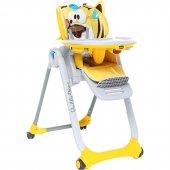 Chicco Polly 2 Start 4 Tekerli Mama Sandalyesi Barışsever Arslan