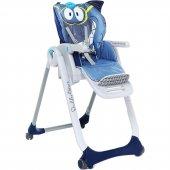 Chicco Polly 2 Start 4 Tekerlekli Mama Sandalyesi Köpek Balığı-2
