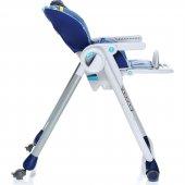 Chicco Polly 2 Start 4 Tekerlekli Mama Sandalyesi Köpek Balığı-6