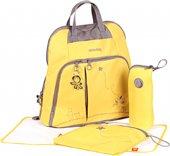 Okiedog Mondrian Trek Bebek Bakım Çantası Sarı 28309