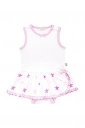 Pink Star Etekli Bebek Body 0 3 Ay