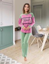 Derya Kurşun Uzun Kol Bayan Pijama Dk1120
