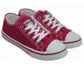 Gezer Fermuarlı Çocuk Beyaz Spor Ayakkabı Keten Ayakkabı-5