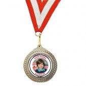 Kişiye Özel Fotoğraf, Logo, İsim Baskılı Madalya
