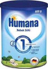 Humana 1 Bebek Maması 800 Gr (Metal Kutulu Yeni...