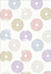 Karışık Renk Pudra, Beyaz, Sarı, Mavi Yolluk Halısı - HS94005R