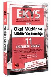 EKYS MEB Okul Müdür ve Müdür Yardımcılığı 11 Deneme Sınavı Yargı Yayınları