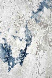 Karışık Renkli Gri, Mavi, Beyaz, Oturma Odası Halısı - HS97029ET