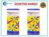 Vitasanol Gıda Takviyesi 150 Ml 2 Adet (Skt 09 2020)