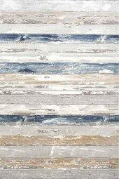 Karışık Renkli Mavi Beyaz Oturma Odası Halısı - HS97028ET
