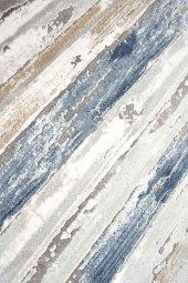 Karışık Renkli Mavi Beyaz Oturma Odası Halısı - HS97028ET-3