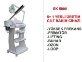 CİLT BAKIM CİHAZI SK 5000 5+1 YERLİ ÜRETİM