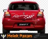Racing Bayrak Oto Sticker-2