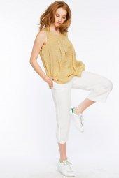 Piecenza - Poplin Mini Desenli Sarı Gömlek   160056-2-2