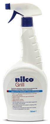 Yanmış Yağ Izgara Ve Fırın Temizleyici Nilco Grill 5 Lt Nilco