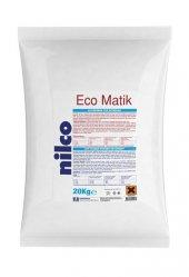 Ağartıcılı Toz Deterjan Nilco Ecomatik 20 Kg Nilco