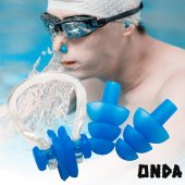 Yüzme Tıkaç Seti 2 Kişilik Onda Havuz Kulak Ve...