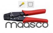 Maasco Yac 5 (İzoleli Yüksük Sıkma Pensesi 0.5 6 Mm Arası)