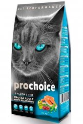 Prochoice pro 34 Somonlu Yetişkin Kedi Maması 15 Kg