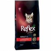 Reflex Plus Kuzu Etli Yetişkin Kedi Maması 15 Kg