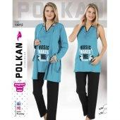 Polkan Lohusa 3 Lü Pijama Takımı 13012