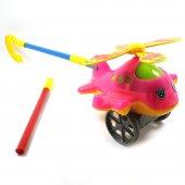 Sevimli İtmeli Oyuncak Helikopter