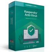 Kaspersky Antivirüs 2 Kullanıcı Dvd Kutu