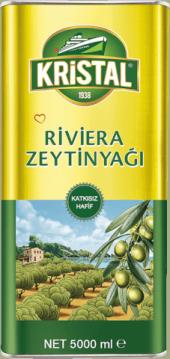 Kristal Zeytinyağı Riviera Zeytin Yağı 5 Lt