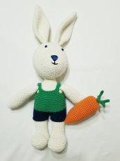 Amigurumi Uyku Arkadaşı Tavşan Oyuncak Bebek...
