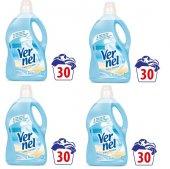 Vernel Deniz Esintisi Çamaşır Yumuşatıcı Kalıcı Parfüm 3 Ltx4adet